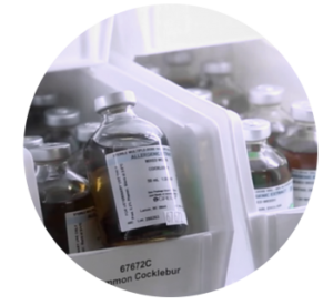 Allergy Testing Vials